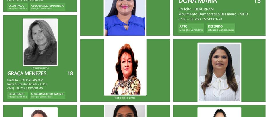 Mulheres buscam ser prefeitas, são 22 no Amazonas