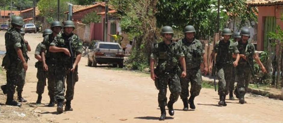 Tropas Federais irão fazer a segurança do pleito em 25 municípios do estado e capital