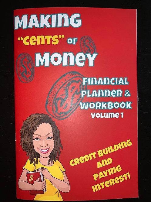 """Making""""Cents"""" of Money Planner & Workbook"""