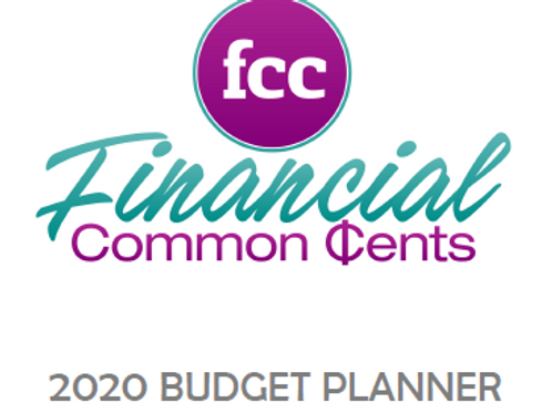 2020 FCC Budget Planner (Electronic)