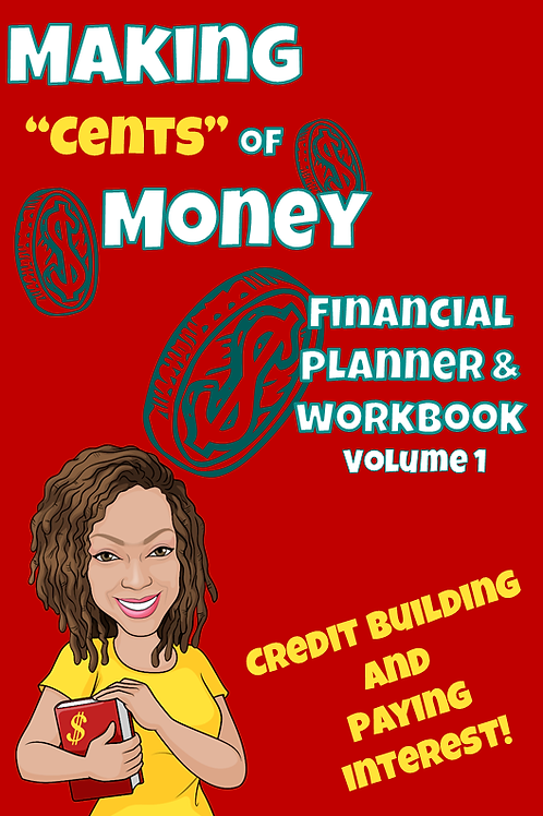 "Making""Cents"" of Money e-Planner & Workbook"