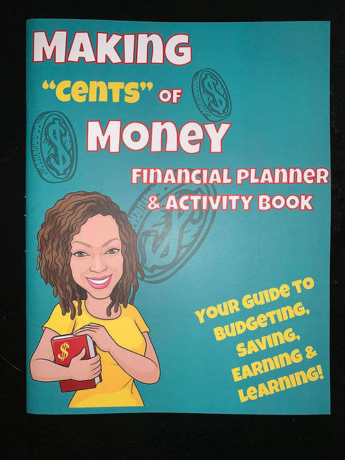 "Making""Cents"" of Money Planner & Activity Book"