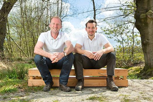 DHZT Andre Vaessen en Stefan van Bommel.