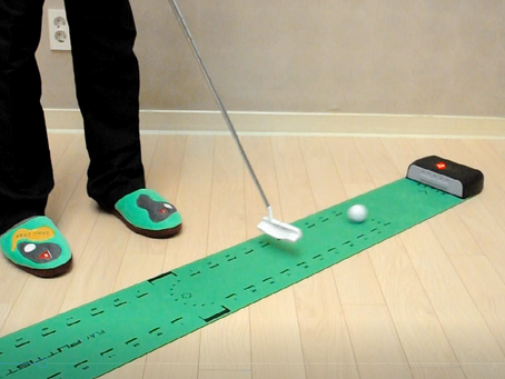 "Meet The PUTTIST, an innovative ""3-putt Killer"" technology from Korea"