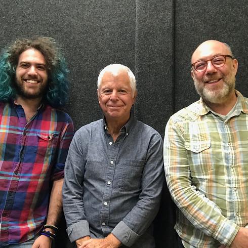Adam Levy with Carey Frank and Ralph Humphrey