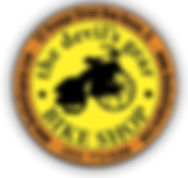 The Devil's Gear Bike Shop Logo
