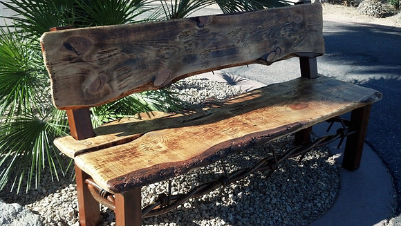 Barb Wire Bench