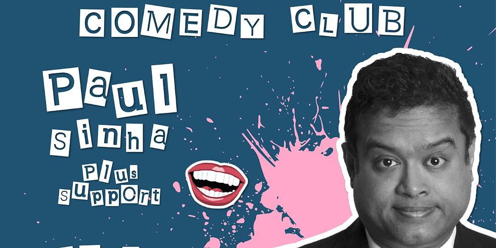 Paul Sinha - Salisbury Comedy Club