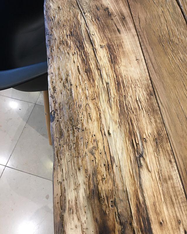 Kocham drewno postarzone 😍