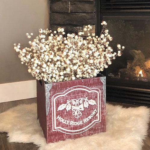 Medium Holly Ridge Wood Box