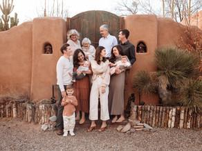 Four Generations in Santa Fe | Santa Fe Family Photographer