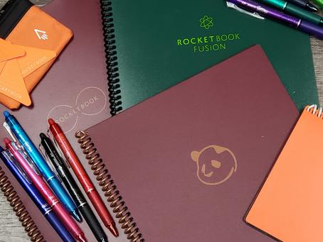 Rocketbook: Get Your Notes Together!