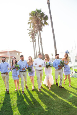 Wedding photographer in Coronado, CA
