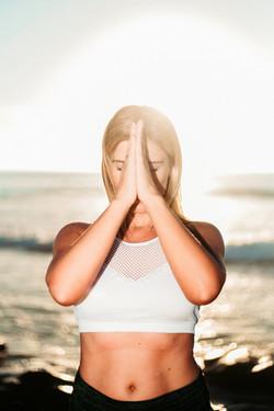 Yoga photography in San Diego