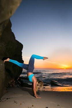 Yoga photographer in San Diego