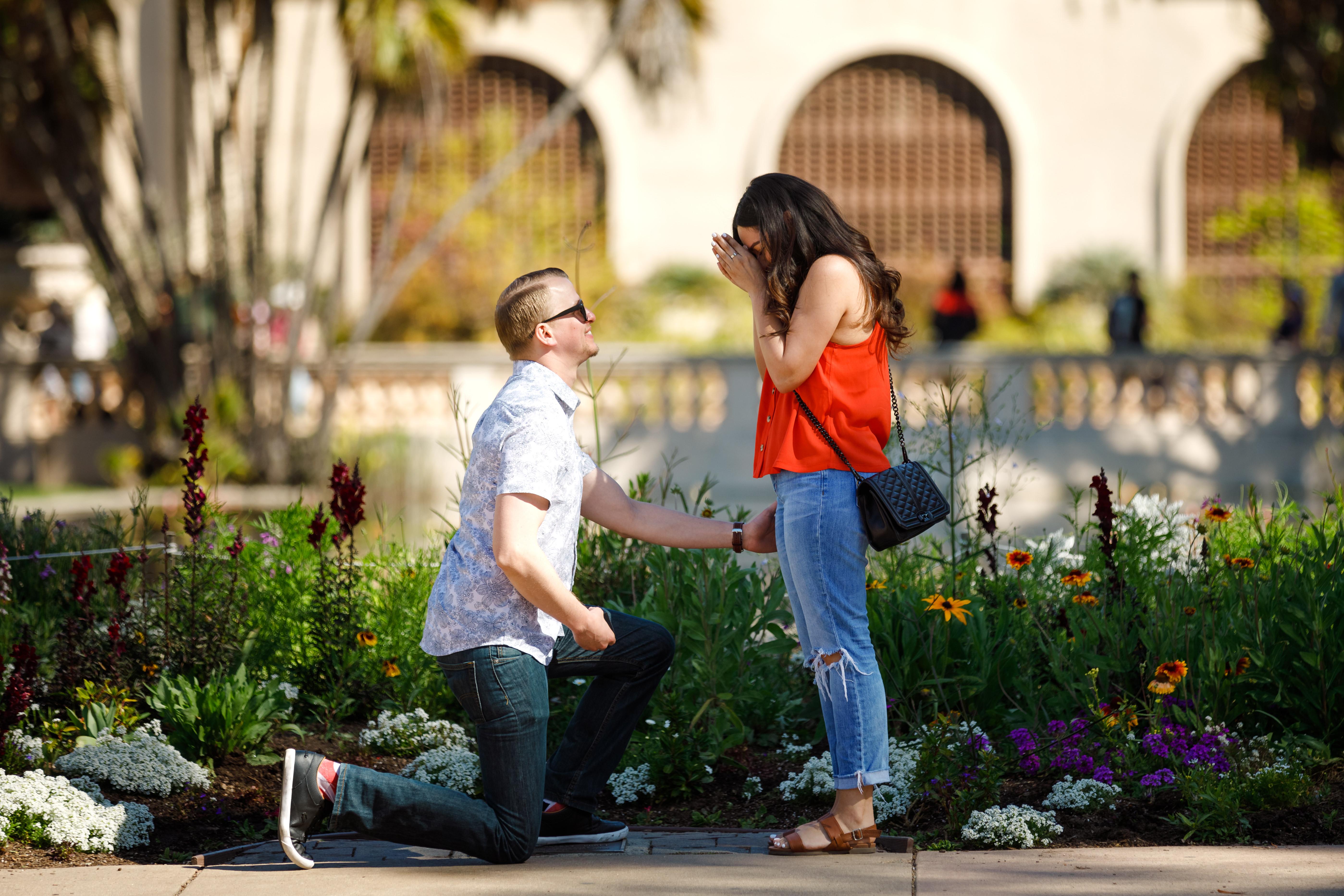 Engagement photo I Proposal