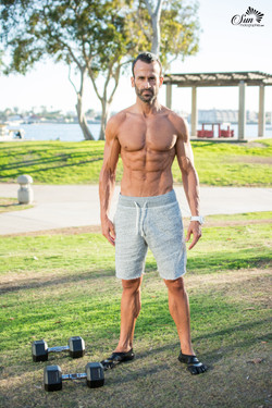 Fitness photographer in San Diego