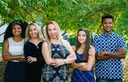 Family photo session in Balboa park