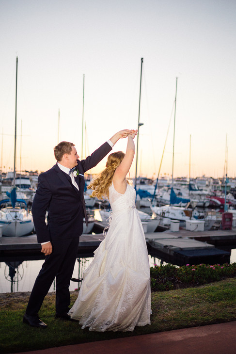 Wedding reception photography in San Diego