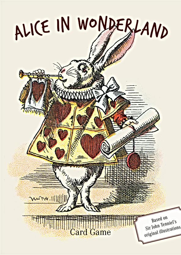 Alice In Wonderland Сard Game