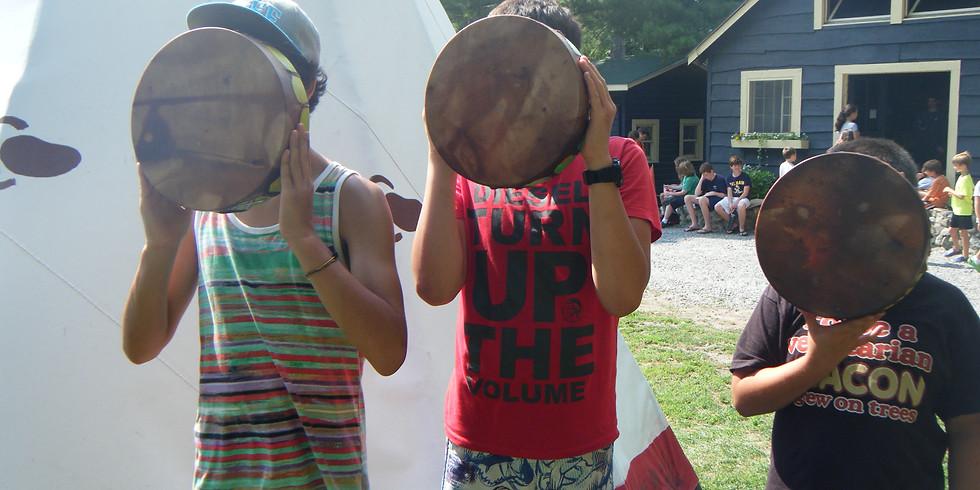 Kids Drum Making Workshop with Zelda Hotaling