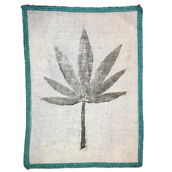 Hemp Cannabis Leaf Iron-on Patch