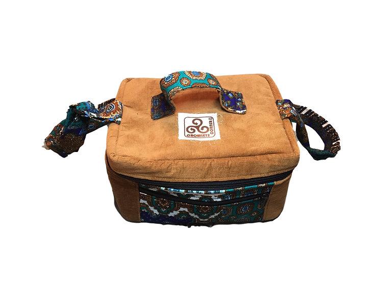 Large Corduroy Cotton Medicine Bag