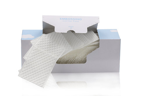 EMBOSSING LINT-FREE COTTON PADS 90PCS