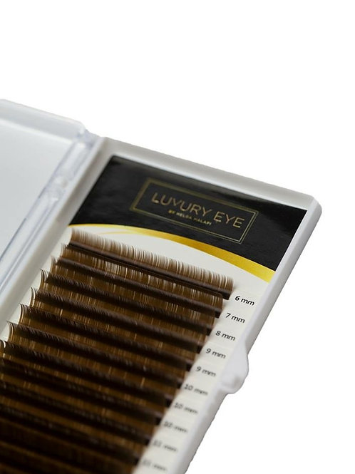 Luxury Eye 0.07 Braune Premium Wimpern