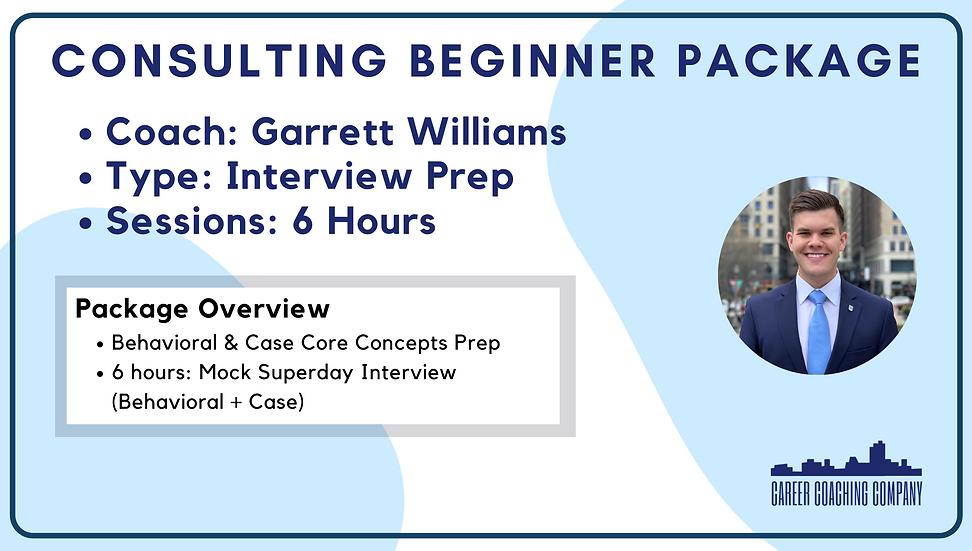 Consulting-Begin-Interview-Garrett Williams