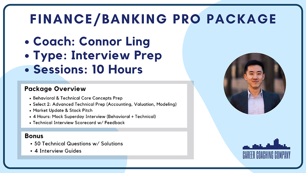 Finance-Pro-Interview-ConnorLing