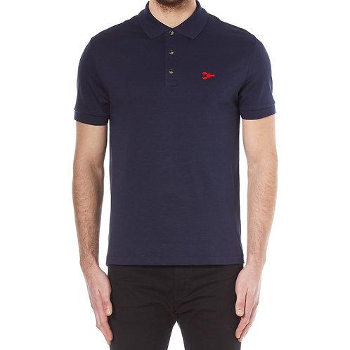 Men's Polo Shirt – Lobster Logo – Navy