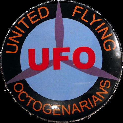 3-inch UFO Badge