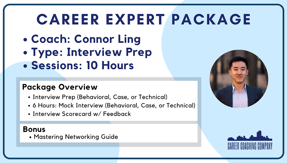 Career-Expert-Interview-Connor Ling