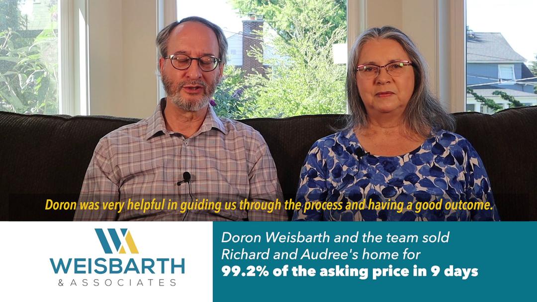 1383 Doron Weisbarth Testimonial - Buyer
