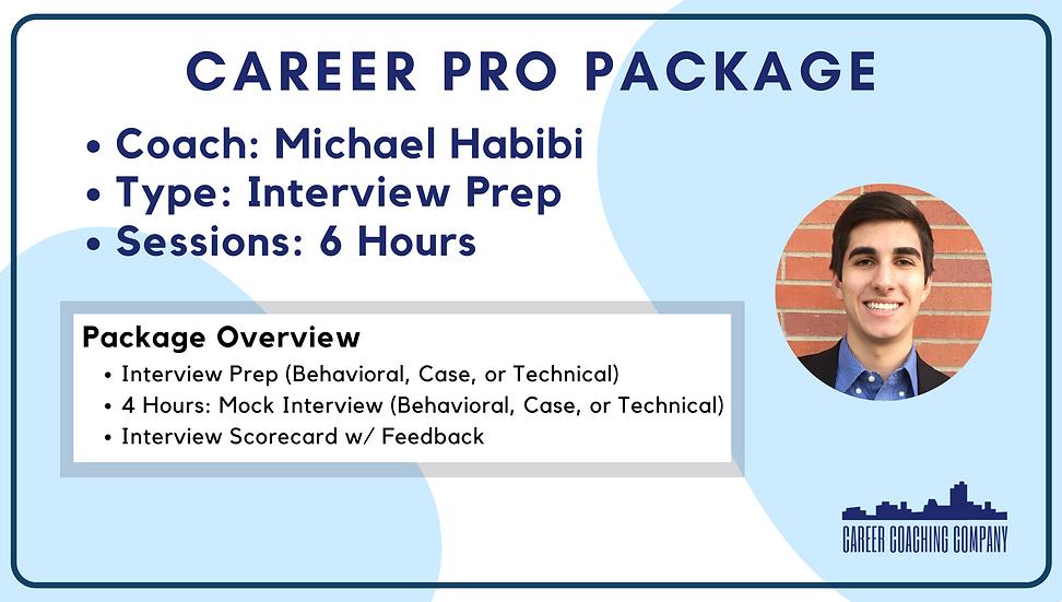 Career-Pro-Interview-Michael Habibi