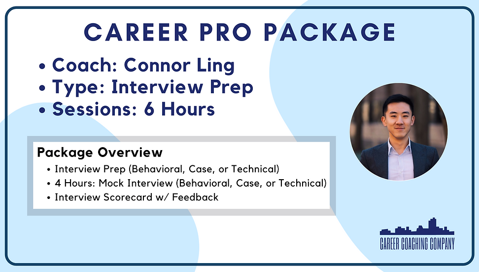 Career-Pro-Interview-Connor Ling