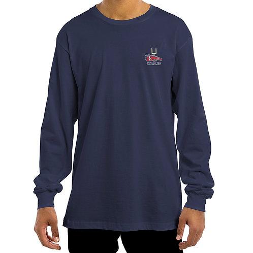 Men's Long-Sleeve T-Shirt – Football/Lobster Graphic