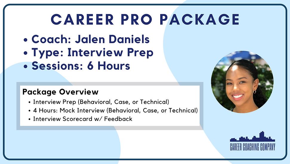 Career-Pro-Interview-Jalen Daniels