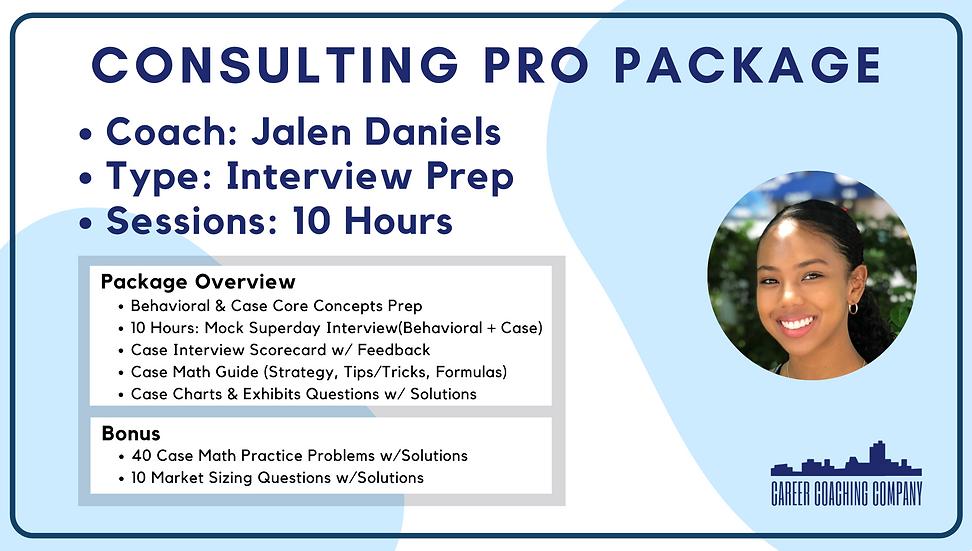 Consulting-Pro-Interview-Jalen Daniels
