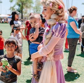 Princess fun at Celebrate Mesa!