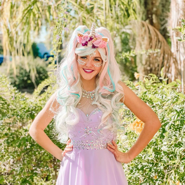 Unicorn Princesses bring sparkle to any event!