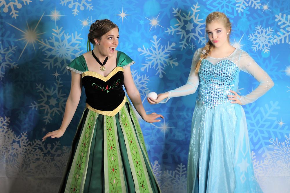 Anna, Elsa, Ice Queen, Ice Princess