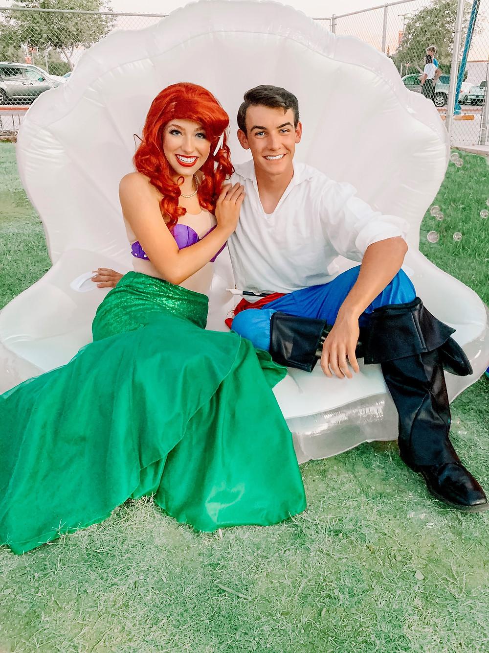 Princess, Ariel, Prince Eric, Mermaid, sea shell