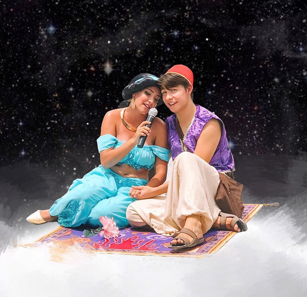 Princess, Jasmine, Aladdin, Magic Carpet ride, prince