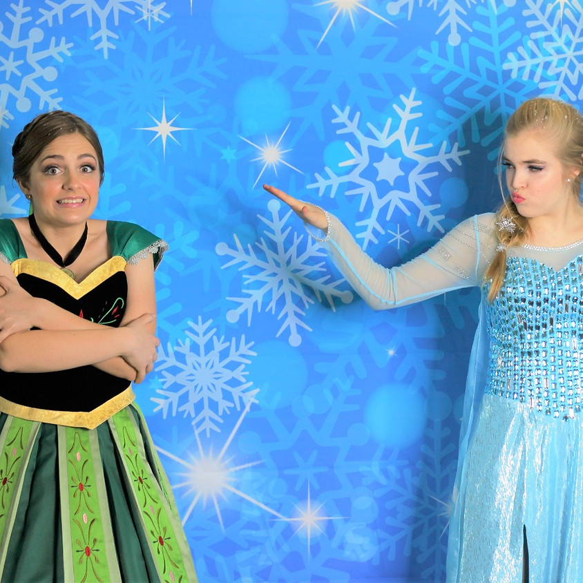 Frozen Holiday Party at The Soda Shop