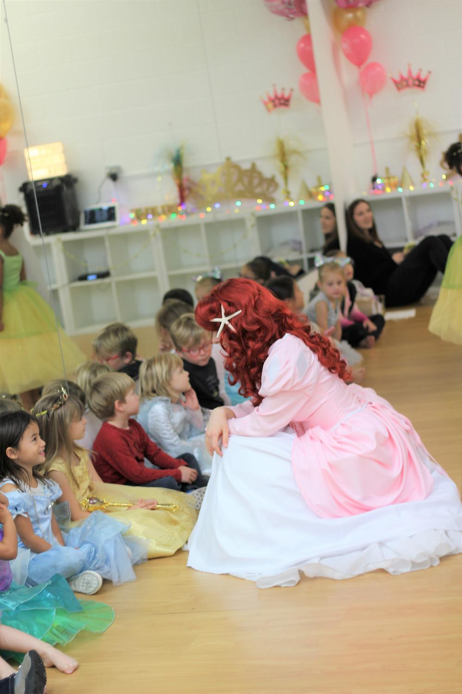 Mermaid Princess, Ariel, Party