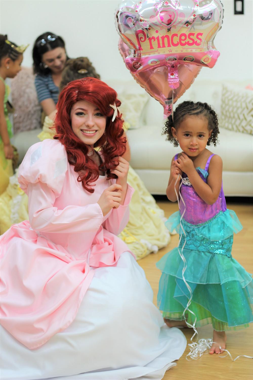 The Mermaid Princess, Ariel, Party