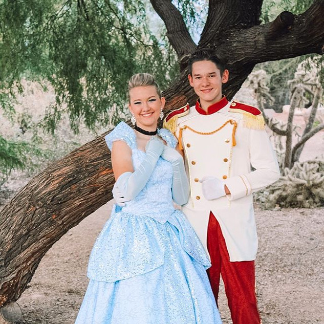 Did you know our Cinderella and Prince C