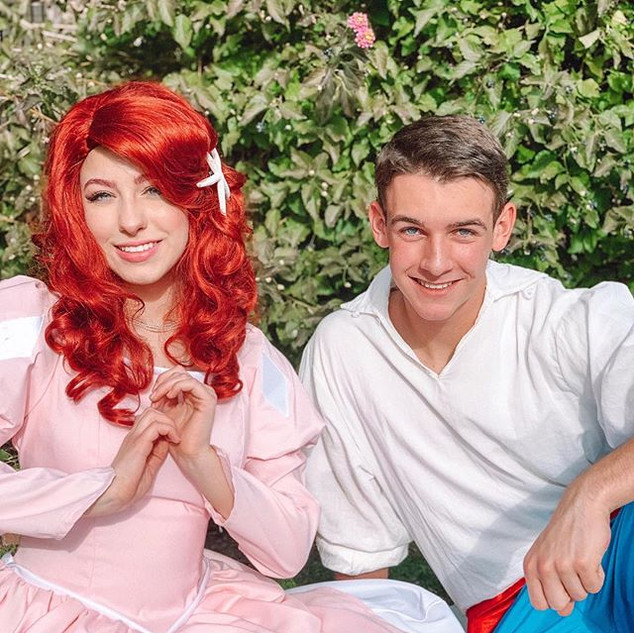 ❤️Ariel and Prince Eric were excited to